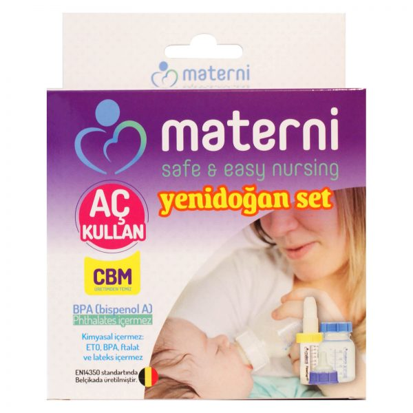 Materni Yenidoğan Set